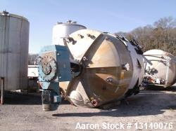"Stainless Fabrication Inc. Approximately 14,700 Gallon Stainless Steel Vertical Mix Tank. 144"" diam..."