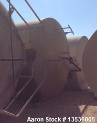 Used- DCI 40,000 Gallon Insulated Silo Tank. Stainless Steel. Vertical. 12' diameter x 57' tall.