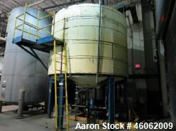 Tank, 6,800 Gallon, Stainless Steel. Approximate 12' diameter x 8' straight side with an approximat...