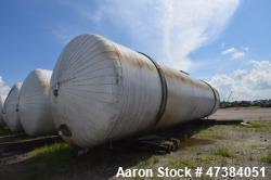 "Mueller Tank, 45,000 Gallon, Model H, 316L Stainless Steel, Horizontal. Approximate 148-1/2"" diamet..."
