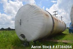 "Mueller Tank, 45,000 Gallon, Model F, 304L Stainless Steel, Horizontal. Approximate 148-1/2"" diamet..."