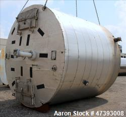 Used- Nooter Insulated Single Shell Tank with Heat Trace, Approximate 13,000 Gal