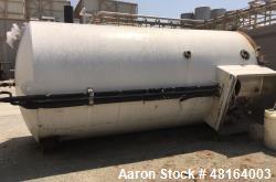 Used- DCI Diary Tank, 6,000 Gallon, Stainless steel, Vertical.