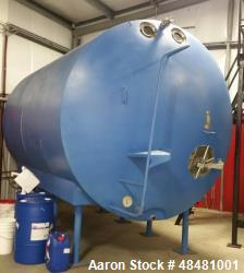 Used- Cherry Burrell 5000 Gallon Stainless Steel Tank. Insulated, jacketed, 316 stainless steel. Sloped bottom, thermometer ...