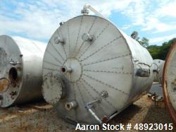"Used-Tank, Clean Harbor, Approximately 5,235 Gallon. 304L Stainless Steel, Vertical.  Approximately 10' diameter. x 11'3"" st..."
