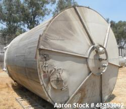 12,000 Gal. SS Hold Tanks, 11 ft. Diameter x 16 ft. Deep