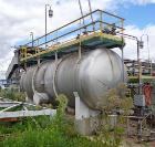 Used-19,000 Gallon Henderson Horizontal Receiver, stainless steel construction, approximately 11' diameter x 27