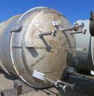 Used-10,000 Gallon DKME Pressure Tank, 316 stainless steel, approimately 10' diameter x 16' straight side, dish top and bott...