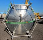 Used- Cherry Burrell 5000 Gallon 304 Stainless Steel Mix Tank. Type CV. Approx. 8' Diameter x 12' 6