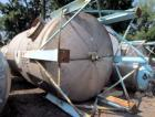 Used- Buffalo Pressure Tank, 10,000 Gallon, 304 Stainless Steel, Vertical. Approximate 120