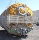 Used- Stainless Metals Inc Tank, 8800 Gallon, 304L Stainless Steel, Vertical. Approximate 120