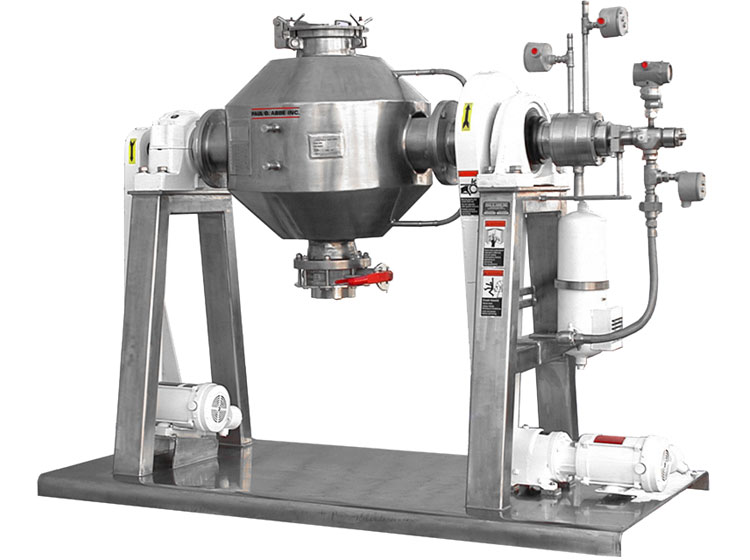 Paul O. Abbe Rota-Cone Vacuum Dryer