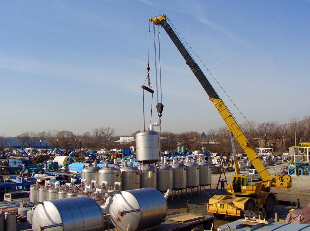 Aaron Equipment Equipment Yard