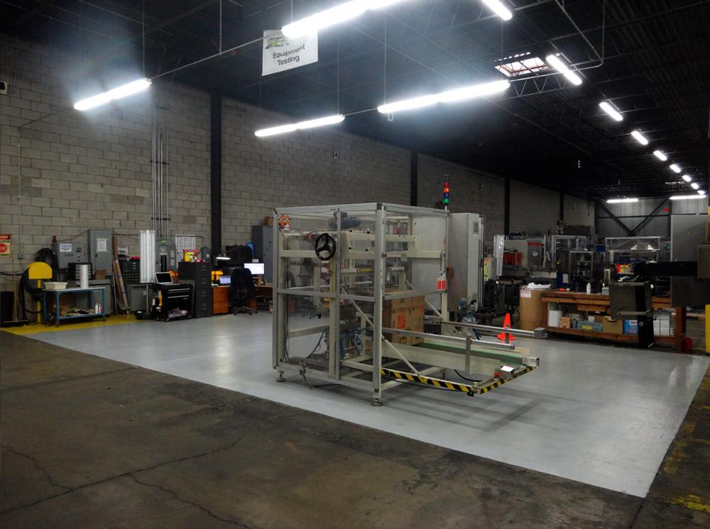 Packaging Equipment Testing