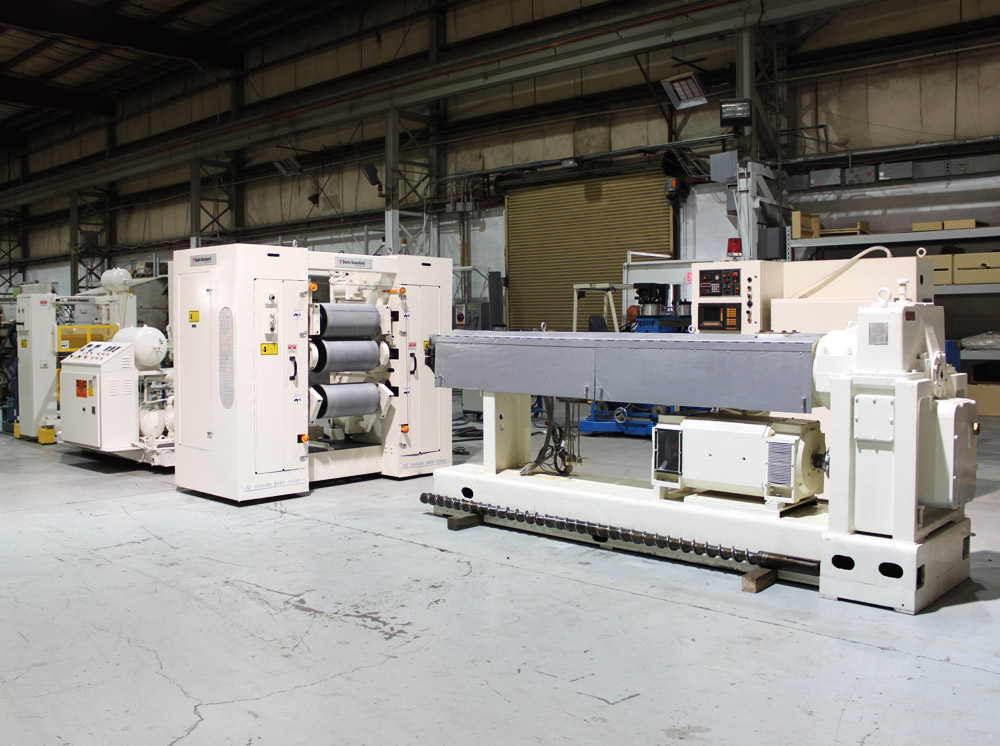 Reconditioned Extrusion Line