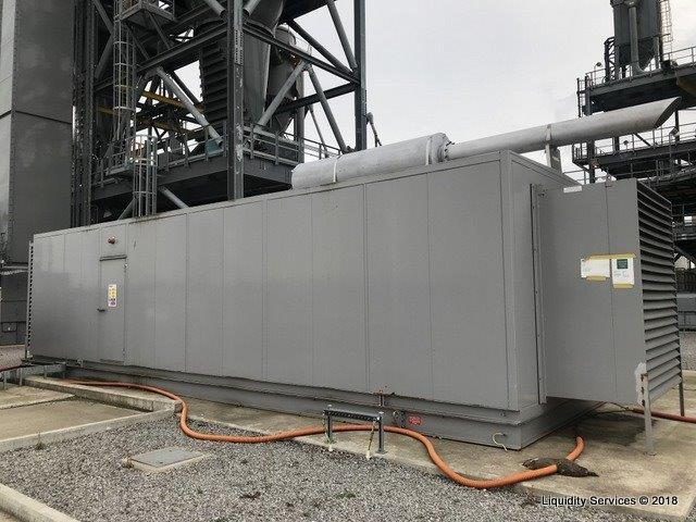 Power Generation Equipment and Inventory of Spares (Majority Unused) at 'Energy from Waste' Power Station - UK