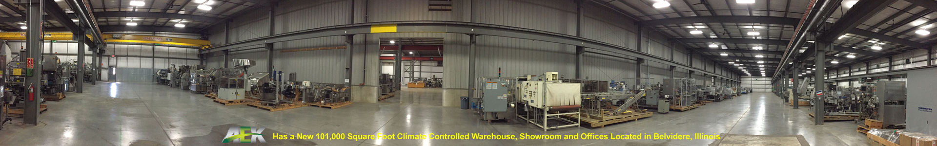 Packaging Equipment Warehouse